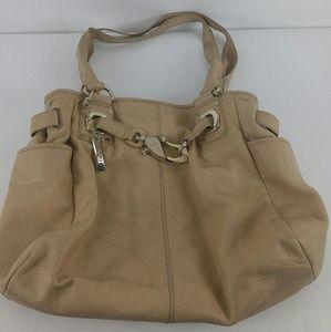 Donna Karan New York DKNY Handbag Tan Beige 100% L